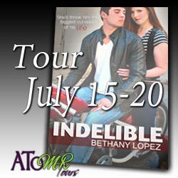 Indelible Tour button